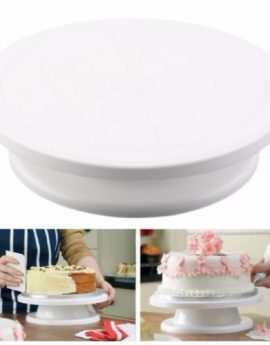 28cm Diameter Cake Rotating Decorating Stand
