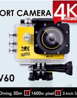 V60 4K WiFi Sports Action Waterproof Camera