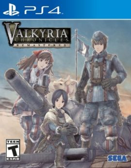 PS4 Game Valkyria Chronicles Remastered