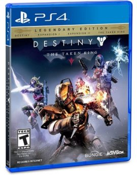 PS4 Game Destiny: The Taken King Legendary Edition