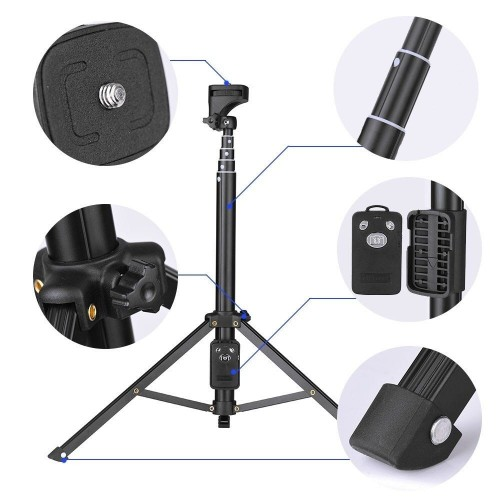 Yunteng Vct 1688 2 In 1 Portable Tripod With Remote