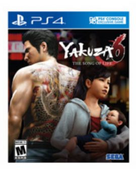 PS4 Game Yakuza 6: The Song Of Life (Essence of Art Edition)