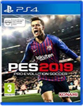 PS4 Game PES 2019 (Pro Evolution Soccer 2019)