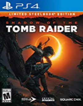 PS4 Shadow of the Tomb Raider Limited Steel Book Edition
