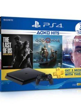 Latest SONY PS4 Slim 1TB Hits Bundle (Brand New Local warranty Set)