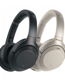 SONY WH-1000XM3 Wireless Noise Cancelling Headphones (Black / Silver) SONY WH1000XM3