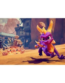 PS4 Game Spyro Crash Remastered Bundle (R1)
