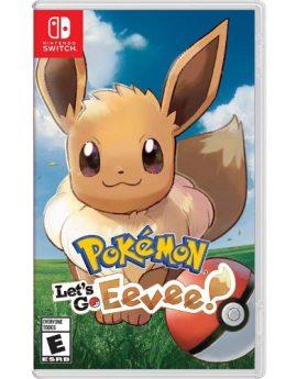 Nintendo Switch Game Pokemon: Let's Go, Eevee!