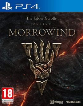 PS4 Game The Elder Scrolls Online: Morrowind (R2)