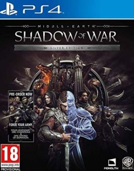 PS4 Game Middle-Earth Shadow of War Silver Edition (R2)