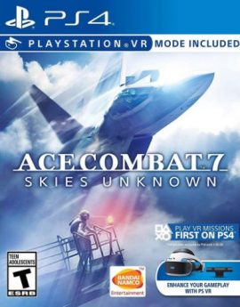 PS4 Game Ace Combat 7: Skies Unknown (R1)