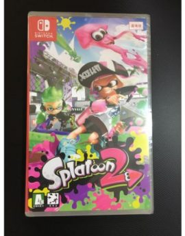 Nintendo Switch Game Splatoon 2 (New)