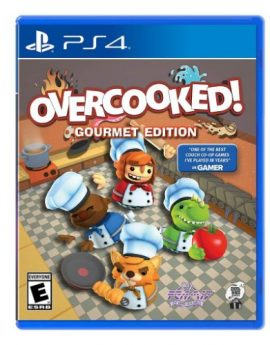 PS4 Game Overcooked: Gourmet Edition (R1)