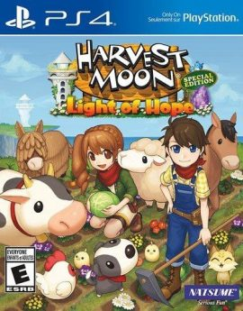 PS4 Game Harvest Moon: Light of Hope Special Edition (R1)