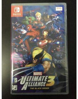 Nintendo Switch Game Marvel Ultimate Alliance 3: The Black Order