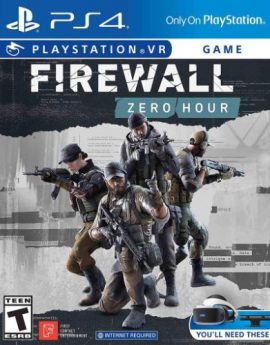PS4 VR Game Firewall Zero Hour PlayStation VR (R3)