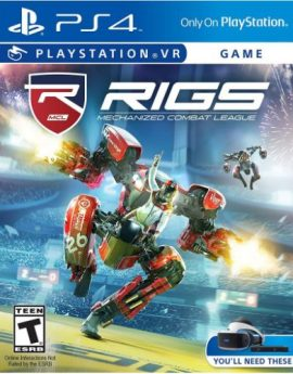 PS4 VR Game RIGS Mechanized Combat League PlayStation VR (R1)