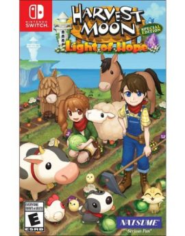 Nintendo Switch Game Harvest Moon: Light of Hope Special Edition