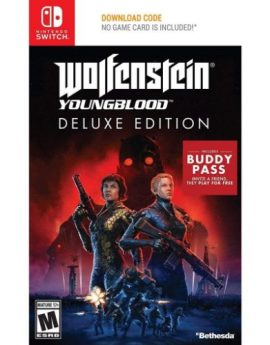 Nintendo Switch Game WOLFENSTEIN: YOUNGBLOOD DELUXE EDITION (US)