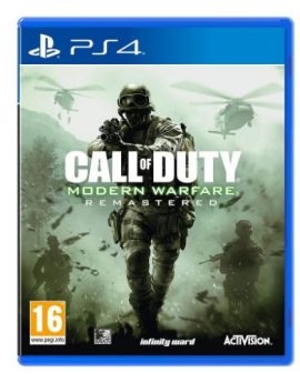 PS4 Game Call of Duty Modern Warfare Remastered (R2)