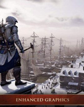 PS4 Game Assassin's Creed III: Remastered (R3)