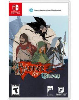 Nintendo Switch Game The Banner Saga Trilogy